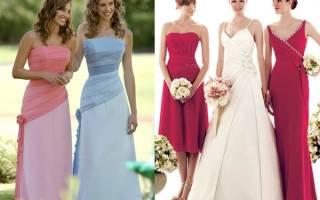 Что одеть на свадьбу? Особенности составления образа для гостей, невесты и ее подружек. Что одеть на свадьбу подруги, родни или просто знакомых