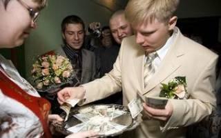 Лучший выкуп невесты. Прикольные выкупы невест сценарии и празднование второго дня