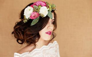 Как выбрать и использовать цветы для свадебной прически: помощь невестам. Цветы в прическе невесты