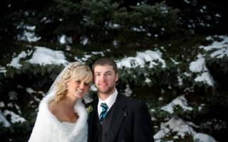 Свадьба зимой: плюсы и минусы. Свадьба зимой: идеи для фотосессии