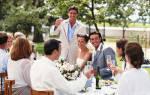 Интересные идеи для поздравления на свадьбу. Как поздравить на свадьбе молодоженов
