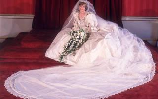 Свадебные платья знаменитостей: Грейс Келли, Николь Кидман, Джеки Кеннеди, принцессы Дианы. Свадьба принцессы дианы и принца чарльза