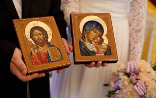 Благословение молодых перед свадьбой иконой. Напутствие для жениха до загса. Советы, как правильно провести свадьбу по церковным обычаям