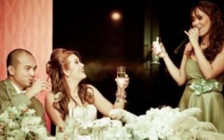 Тост свадебный. Тосты на свадьбу в прозе