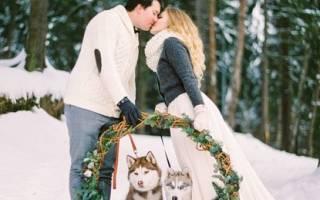 Варианты зимней свадебной фотосессии. Образы невесты и жениха. Народные приметы для свадьбы зимой