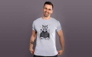 Мужские футболки с принтами — всегда оригинальный подарок