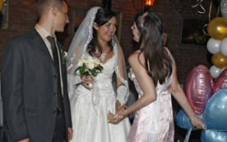 Варианты поздравлений на свадьбу от свидетельницы. Поздравления в прозе от свидетельницы на свадьбу