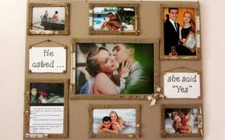 Коллаж на годовщину свадьбы своими руками. Фотоколлаж своими руками: идеи и способы оформления