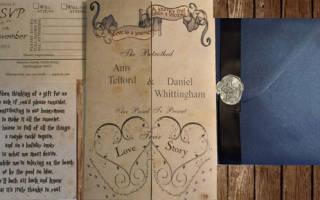 Самые необычные свадебные приглашения. Приглашение в электронном виде. Тематические пригласительные в стиле свадьбы