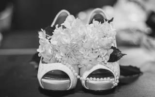 В какой обуви нужно выходить замуж. Босоножки для невесты: нет – приметам, да – удобству и красоте. Можно ли выходить замуж в босоножках по правилам этикета
