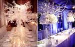Свадьба зимой идеи и советы. Зимняя свадьба в стиле бохо. Возможные сложности при организации