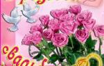Юбилей свадьбы 10 лет поздравления. Поздравление с розовой свадьбой