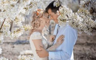 Месяц для свадьбы в году. К сожалению, по вашему запросу ничего не найдено