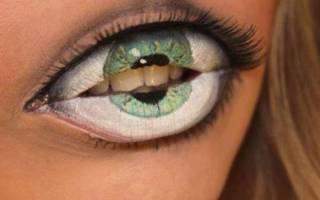 Идеи макияжа на хэллоуин. Макияж «невеста Франкенштейна»