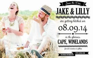 Необычные свадебные приглашения. Save the date: необычные приглашения на свадьбу