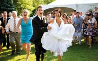 Несложные конкурсы на свадьбу. «Пройти под нитью». Конкурсы для невесты