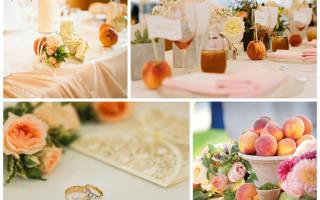 Свадьба в цветочном стиле. Цветочный стиль в оформлении свадьбы и других торжественных мероприятий. Палитра для персиковой свадьбы